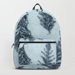 Botanical Pattern 6 (blue) Backpack