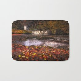 Sgwd Ddwli Isaf waterfalls South Wales Bath Mat