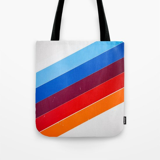 lines on lines Tote Bag