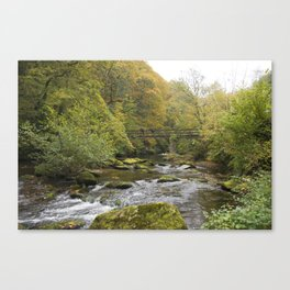Doone Valley Bridge  Canvas Print