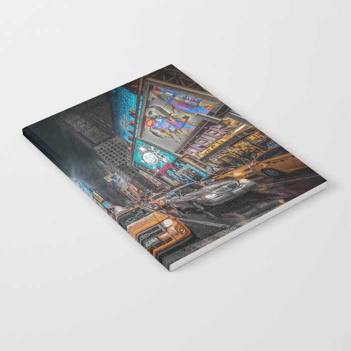 Times Square NYC Notebook