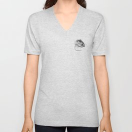 Itty Bitty Mouse Unisex V-Neck