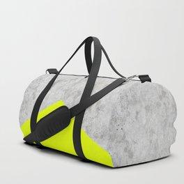Concrete Arrow - Neon Yellow #521 Duffle Bag