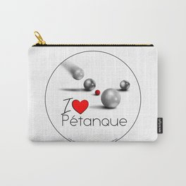 I love Pétanque Carry-All Pouch