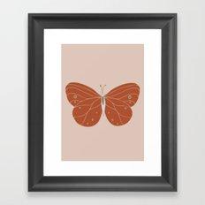Minimalist Butterfly Art Framed Art Print