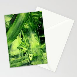 Green Mess Stationery Cards