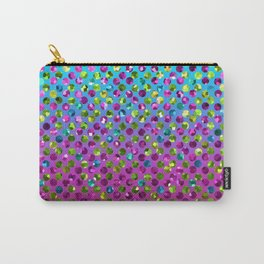 Polka Dot Sparkley Jewels G377 Carry-All Pouch