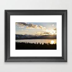 Top Floor Lake Tahoe Framed Art Print