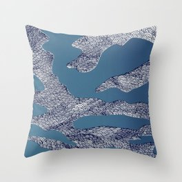Change In The Weather Throw Pillow