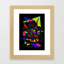 Perspective of the mindless Framed Art Print
