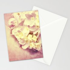 HYDRANGEA IN VANILLA AND PINK Stationery Cards