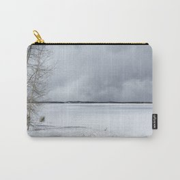 Serenity - Jackson Lake in April Carry-All Pouch