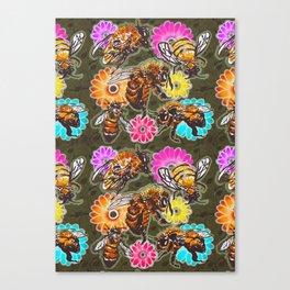 BeeUtiful Spring Canvas Print