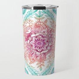 Indian Ink - Rainbow version Travel Mug
