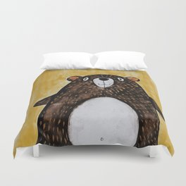 Mr. Bear Duvet Cover