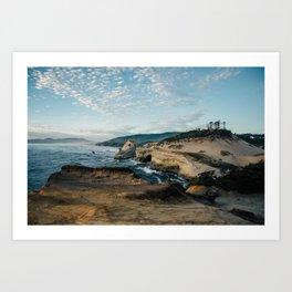 Rugged Pacific City Art Print