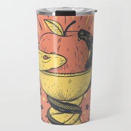 Liquid and Solid Travel Mug