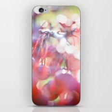 Red Orbs iPhone & iPod Skin