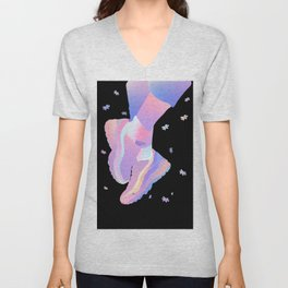 The ship has weather'd every rack Unisex V-Neck