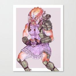 Lolita Hunter Canvas Print