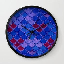 Multicolor Scales Wall Clock