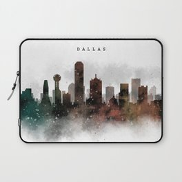 Dallas City Skyline Laptop Sleeve