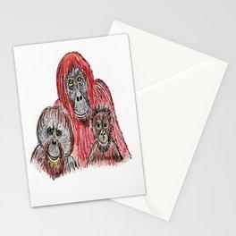 Orangutans Stationery Cards