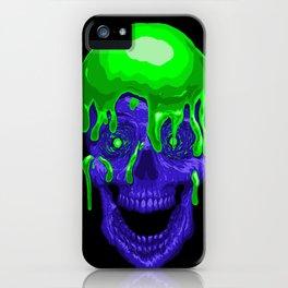 Slime Skull iPhone Case