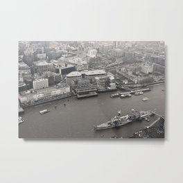 View from The Shard Metal Print