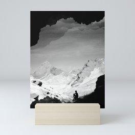 Snowy Isolation Mini Art Print