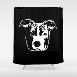 Pit Bull Terrier Shower Curtain