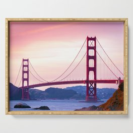 Golden Gate Serving Tray
