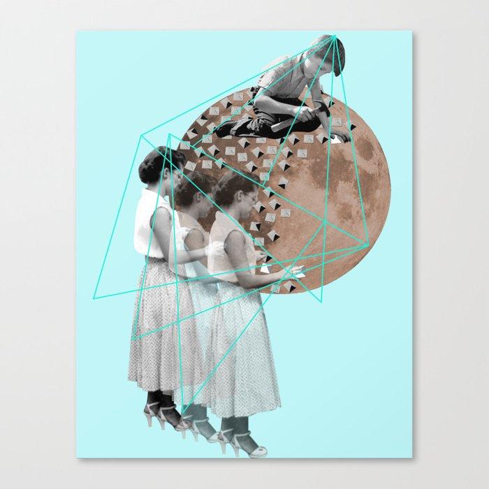 Gothic Moon Maker Canvas Print