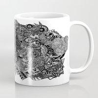 sherlock Mugs featuring Sherlock  by J. Fuller