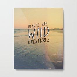 Wild Creatures Metal Print