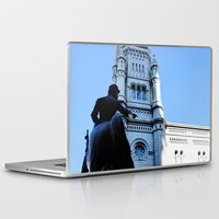 onward Laptop & iPad Skins featuring Onward (Philadelphia) by Julie Maxwell
