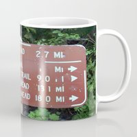 miles davis Mugs featuring Trail Miles by NoelleB