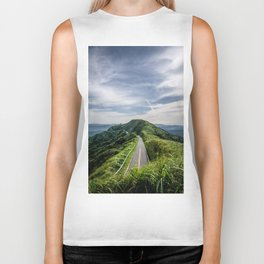 road to heaven Biker Tank