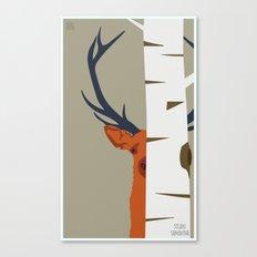 Strange Buck Canvas Print