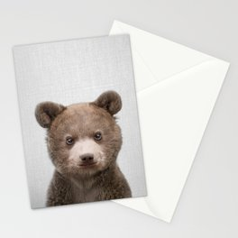 Baby Bear - Colorful Stationery Cards