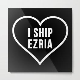 EZRIA Metal Print