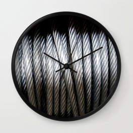 Vinyl Coated Wall Clock