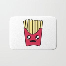 Kawaii French Fries Bath Mat