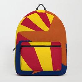 Arizona State flag Backpack