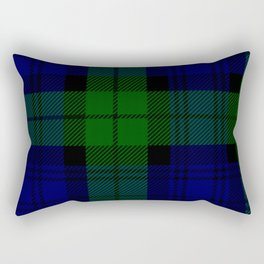 MY BLACK WATCH TARTAN Rectangular Pillow