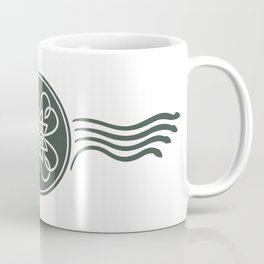St. Patricks Badge–Dark Green Coffee Mug