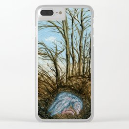 Soul of Winter Clear iPhone Case