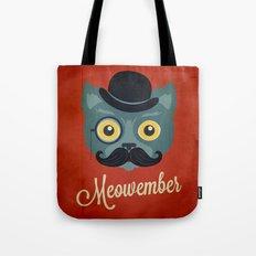 Meowember Tote Bag
