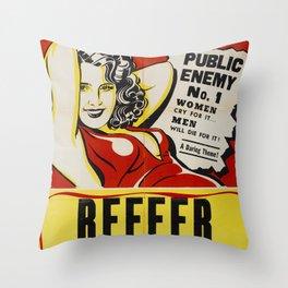 Reefer Madness Throw Pillow