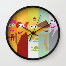 Fraggle Rock: We Are Harmony Wall Clock